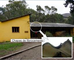 Análisis de materiales de construcción con asbestos