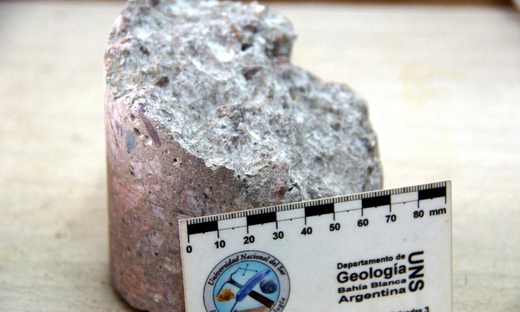 Petrografía de hormigón